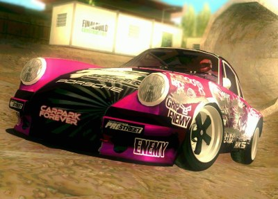 porsche 911 pink power gta mods zone. Black Bedroom Furniture Sets. Home Design Ideas