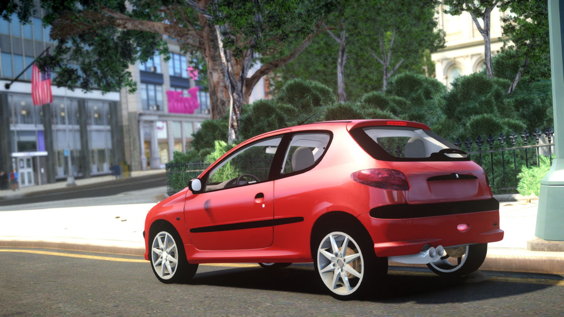 peugeot 206 xs gta mods zone. Black Bedroom Furniture Sets. Home Design Ideas
